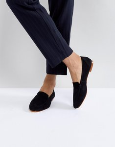 Read more about Office flora black soft leather loafers - black