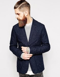 Read more about Farah blazer with fleck - true navy
