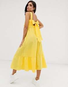 Read more about Asos design maxi dress with pephem