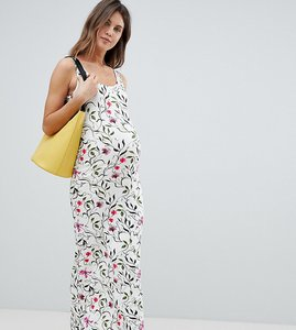 Read more about Mamalicious floral maxi dress - multi