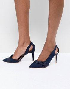 Read more about Coast bow heel shoes - navy