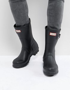 Read more about Hunter original short wellies - black