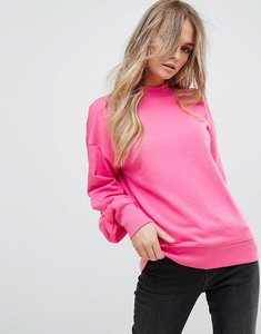 Read more about Vero moda pleated sleeve sweater - pink