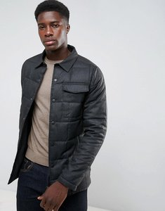 Read more about Threadbare quilted lightweight jacket - grey