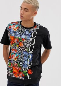 Read more about Versace jeans couture oversized t-shirt with floral print