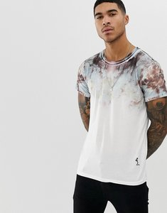 Read more about Religion t-shirt with oil slick fade print
