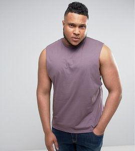 Read more about Asos plus vest with dropped armhole - dusty lilac