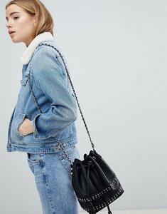 Read more about Pimkie borg collar denim jacket - denim