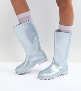 Read more about Juju vintage tall wellie - grey gloss