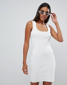 Read more about Missguided lace up mini dress - cream