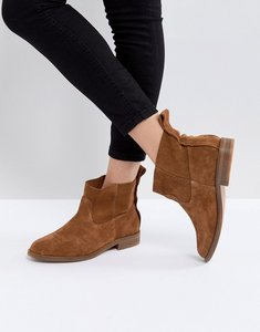 Read more about Hudson london odina tan suede ankle boots - tan