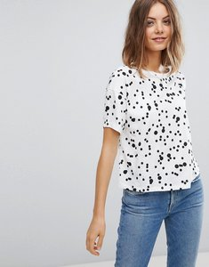 Read more about Esprit polka dot t-shirt - white