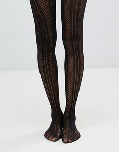 Read more about Asos pelerine tights - black