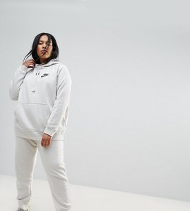 Read more about Nike plus rally regular fit sweat pants in bone - white