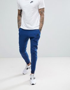 Read more about Nike tech fleece joggers in skinny fit in navy 805162-452 - navy