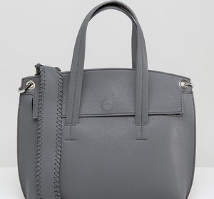 Read more about Street level tote cross body bag - grey a3daf87f26efd