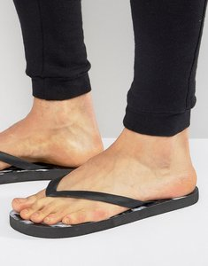 Read more about Cheats and thieves marble flip flops - black