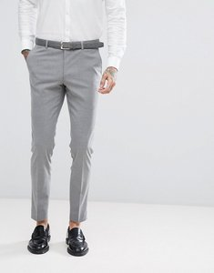 Read more about Harry brown plain stretch skinny suit trousers - grey