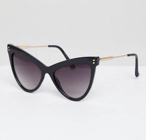 Read more about Bershka cat eye sunglasses - black