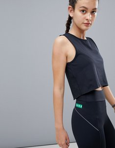 Read more about Asos 4505 vest top with laser cut technology - black