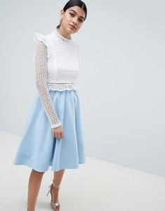 Read more about Club l prom skirt - blue