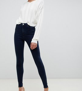 493cb3d2b549 Read more about Asos design tall ridley high waisted skinny jeans in dark  blue wash