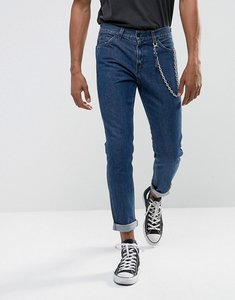 Read more about Levis line 8 slim taper jeans fences dark wash - blue