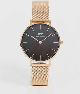 Read more about Daniel wellington dw00100161 mesh watch in rose gold - rose gold