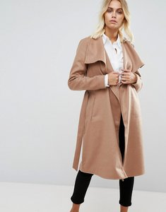 Read more about Only wrap coat - camel