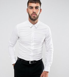 Read more about Only sons skinny smart shirt with stretch - white