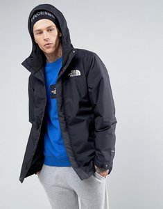 Read more about The north face sherpa zaneck borg lined parka in black - tnf black