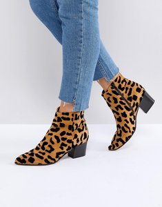 Read more about Office aruba leopard print boots - leopard