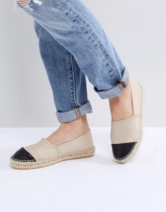 Read more about Office lucky leather espadrilles - nude leather