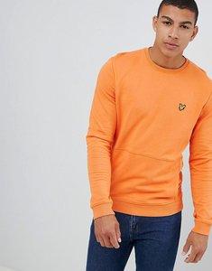 Read more about Lyle scott front pocket sweatshirt - fox orange