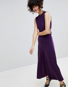 Read more about Stradivarius wide leg jumpsuit - purple