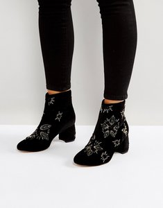 Read more about Office arch enemy embellished boots - black