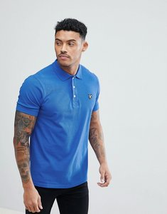 Read more about Lyle scott polo shirt in blue - lake blue