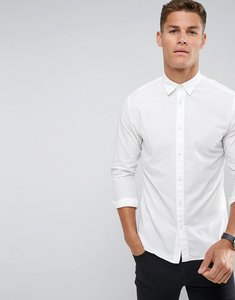Read more about Selected homme slim oxford shirt - bright white