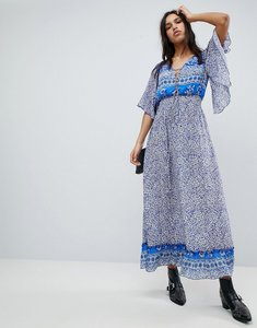 Read more about Lily and lionel printed marlowe maxi dress - santorini print