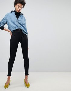 Read more about Stradivarius basic super high waist jegging - black