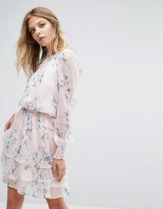 Read more about Y a s floral print long sleeve dress - night sky aop