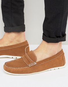 Read more about Kg by kurt geiger loafers in tan suede - tan