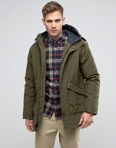 Read more about Penfield kingman insulated parka jacket hooded in green - olive