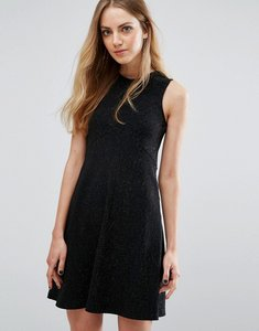 Read more about Pimkie sleeveless swing dress - black