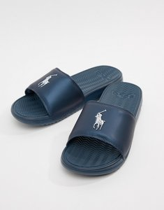 Read more about Polo ralph lauren rodwell summer sliders large player in blue - blue