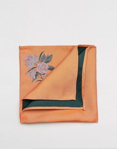 Read more about Asos pocket square in orange - or1