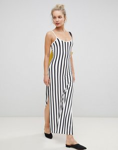 Read more about Jdy striped maxi dress with strappy back - multi