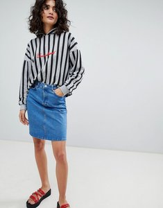 Read more about Uncivilised denim mini skirt