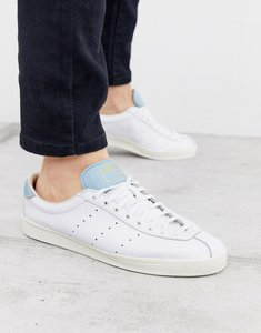Read more about Adidas originals lacombe leather trainers white
