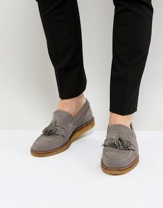Read more about House of hounds bully suede loafers - grey